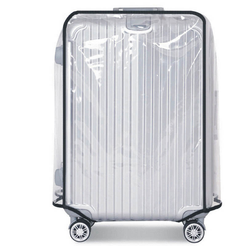 pvc-luggage-protective-cover-travel-bag-accessories-trolley-transparent-case-elastic-suitcase-cover-dust-rain-dust-proof-part