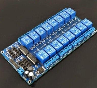 5 В RF4 16 Реле Канала Модуль Anti-помех Совет Для PIC ARM DSP ПЛК С Оптрон Защиты М