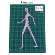 Fashion Drawing Ruler Garment Design Of Human Body Dynamic