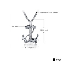 Anchor Stainless Steel Necklace