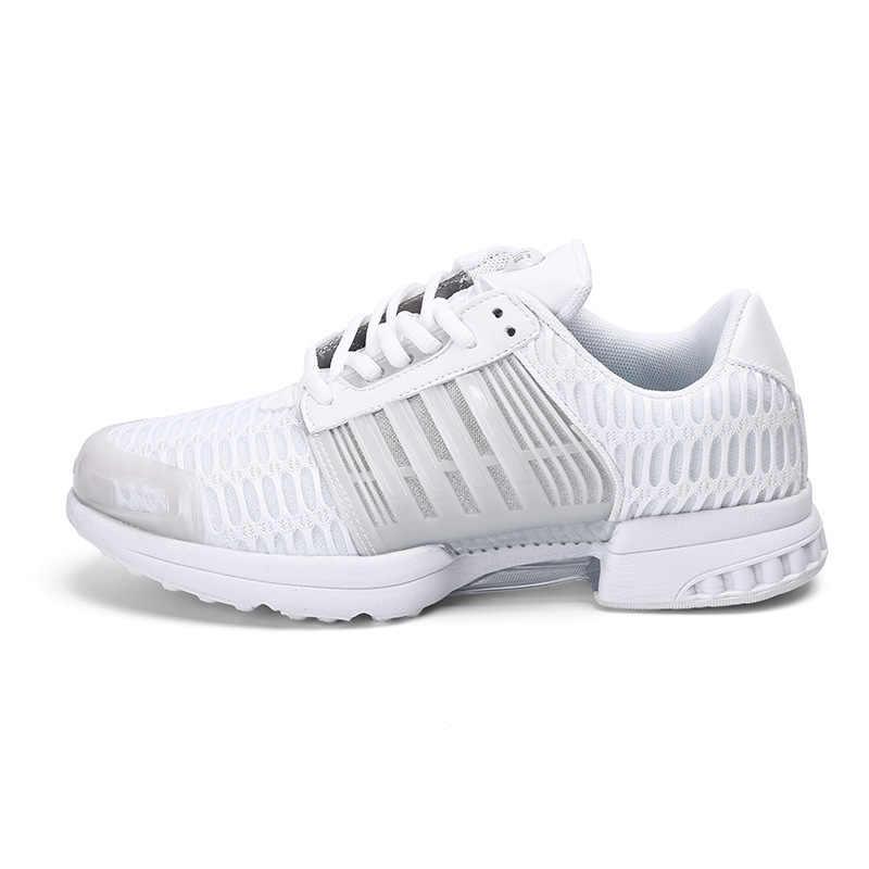 bc6fc55be Для мужчин кроссовки из сетчатого материала дышащая Спортивная обувь  спортивные кроссовки для человека фитнес бегун 83