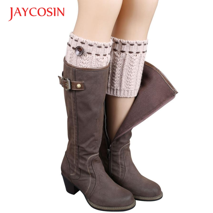 Hot marking  1 Pair Knitted Leg Warmers Socks Boot Cover N9 Drop Shipping