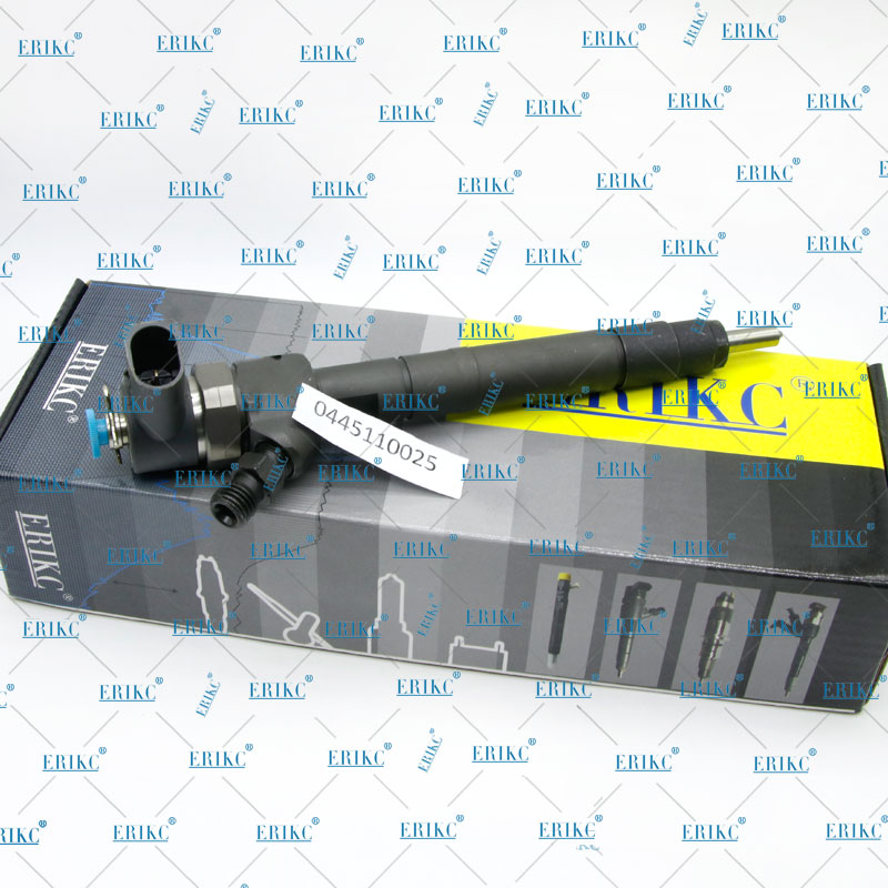 ERIKC 0445110025 Common Rail Injector 0 445 110 025 Diesel Fuel Engine Injector 0445 110 025 For 0001587V001