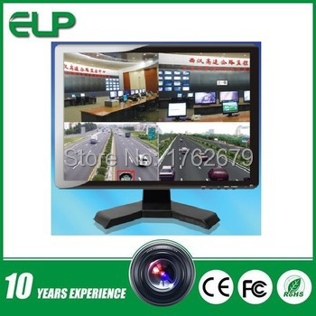 15 inch LCD TV/AV/PC TFT LCD monitor with HDMI high resolution port ELP-T15P-HDMI standalone analog tv tuner box with remote high resolution 1680 1050px view tv on lcd without pc