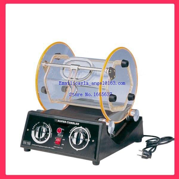 12kg Capacity Rotary Tumbler Machine Jewelry Polisher Jewelry Tumbling Machine