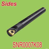 무료 배송 SNR0007 K08 125mm 길이 내부 소형 스레딩 인서트 홀더 선반 기계 용 나사 홀더|insert holder|thread holderholder inserts -