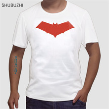 736ed6ad cotton Fashion Red Hood Jason Todd Comics Superhero T Shirt Mans Fashion  Novelty Short Sleeve Tee