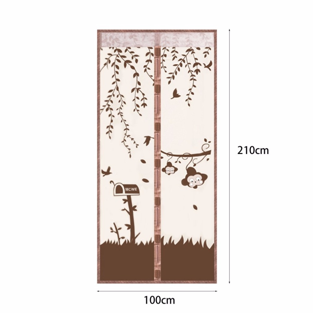 Fenêtre Porte Magnétique Maille Snap Net Mosquito Fly Bug Insect Ecran Home Supplies