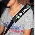 2x Excelente estilo cinturones de seguridad todo el algodón para skoda octavia yeti superb octavia fabia rápido