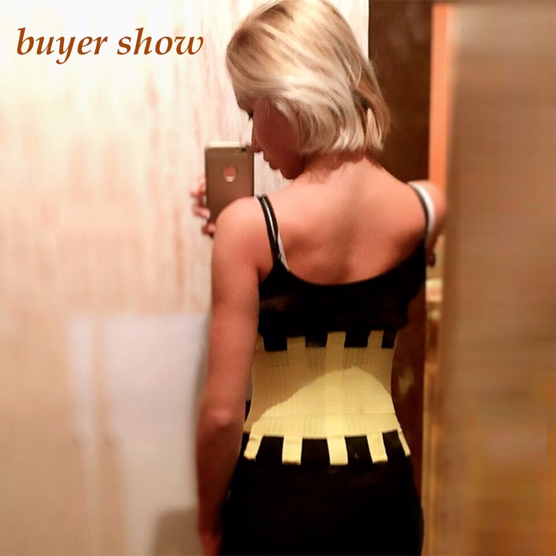 SIZE-L-ORANGE-BELT-BACK-SLIMMING-SHAPERS-TECNOMED-HOT-POWER-SUPPORT-BELT