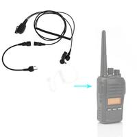 talkie walkie 2 Tube הולכת אוויר פין אוזניות אפרכסת אוזניית מיקרופון עבור Talkie Walkie מידלנד אלן GXT G6 G7 G8 G9 75-810 רדיו GXT650 LXT80 (3)