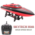 Skytech H101 RC Boat 2.4G 180 Degree Flip Remote Control Ship High Speed 4CH Racing Speedboat barco Rc Toys For Children