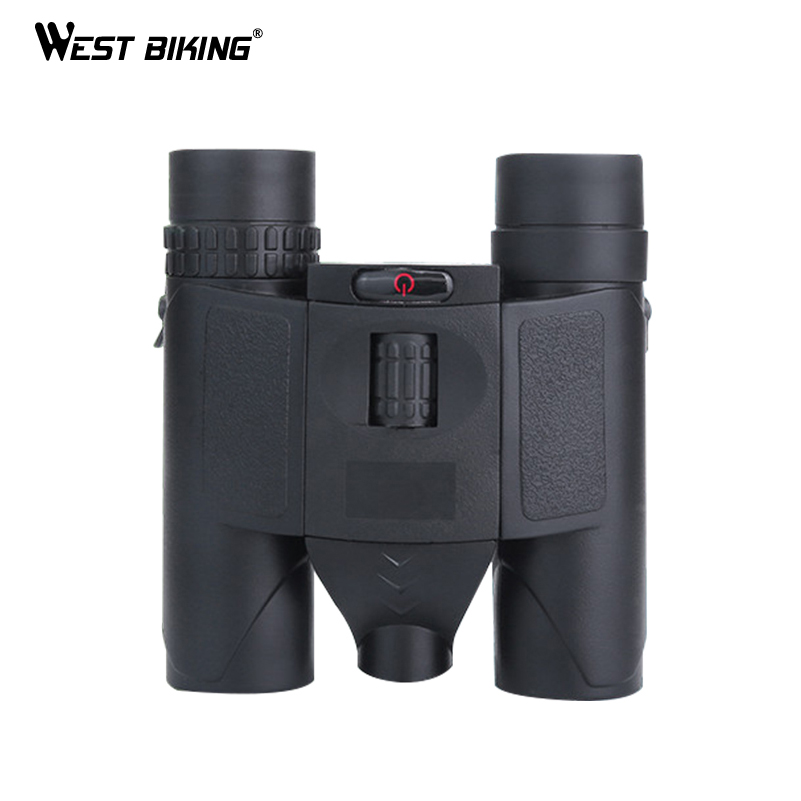 WEST BIKING Professional 8x25 HD Binoculars Night Vision Telescope with BAK4 Prism Portable Match Hiking Hunting Tools Telescope цена