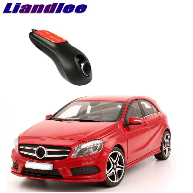 Liandlee For Mercedes Benz A MB W176 2012~2018 Car Black Box WiFi DVR Dash Camera Driving Video Recorder liislee car black box wifi dvr dash camera driving video recorder for mazda cx 5 ke 2012 2017