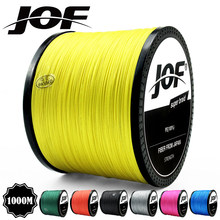 2018 JOF 300m 500m 1000m 10LB - 80LB PE Multifilament 4 Strands Braid Line Ocean Fishing Super Strong Carp Braided Fishing Line