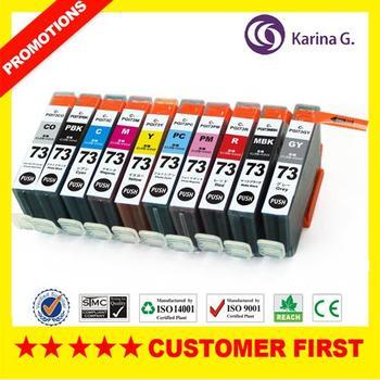 Ink sets Generic Inkjet Cartridge for PGI73 pgi-73 for Canon PIXMA PRO 10 PXMA Pro 10 Printer Ink For Japan