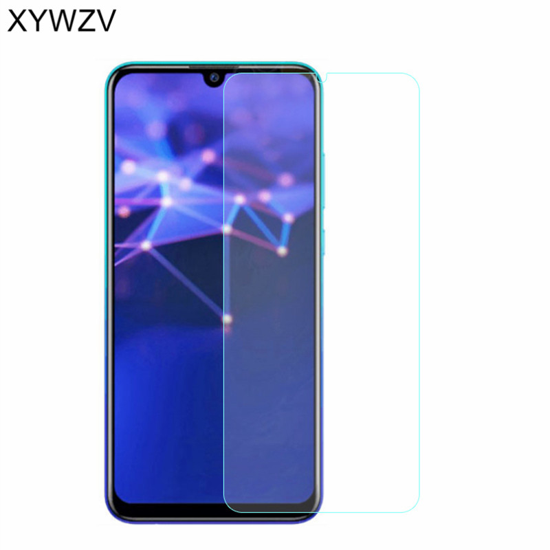 1 Pack Scratch Resistant Ultra Clear Tempered Glass Screen Protector Film for Huawei P Smart//Enjoy 7S Bear Village Screen Protector for Huawei P Smart//Enjoy 7S