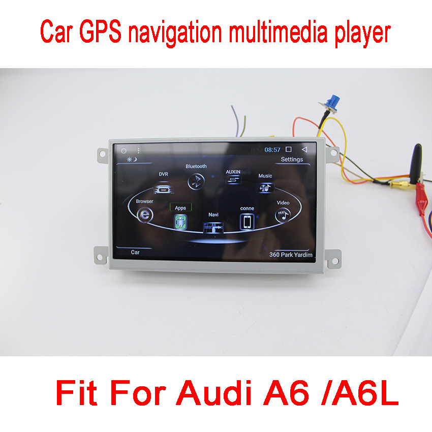 For Audi A6 A6L 2005~2011 Car Android Media Player System Autoradio Radio Stereo GPS Navigation Multimedia Audio Video