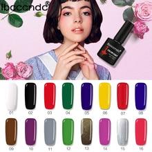 80 одноцветное Цвета Мода гелевых ногтей Лаки LED УФ Гели для ногтей лак Soak Off длительный Лаки для ногтей лак 10 мл GelPolish 1-30