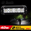 8inch 40W LED Work Light Bar for Tractor ATV Motorcycle LED Bar Offroad 4X4 Fog light External LED Work Light Seckill 36w