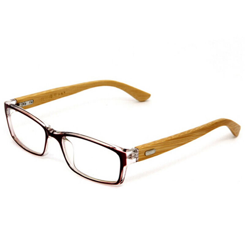 100% Handmade Natural Bamboo Eyeglasses Fine Vintage Men Women ...