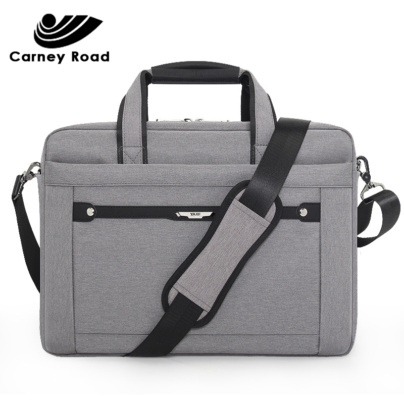 Oxford Waterproof Business Men Women Briefcase 15.6 Inch Laptop Handbag Causal Document Office Shoulder Bag Computer Bag For Men