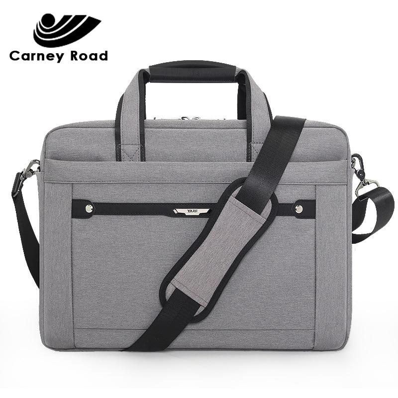Oxford Waterproof Business Men Women Briefcase 15.6 Inch Laptop Handbag Causal Document Office Shoulder Bag Computer Bag For Men