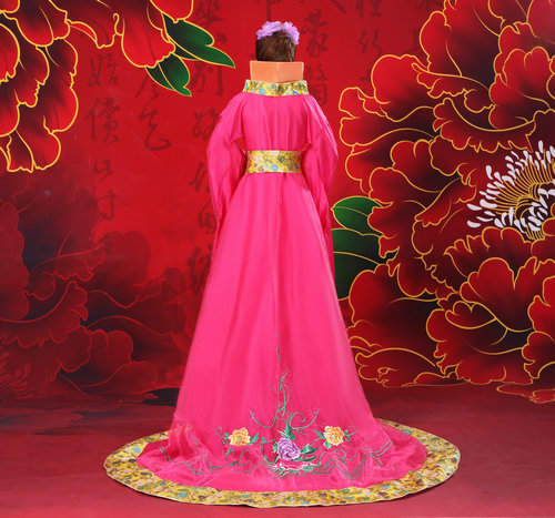 2018 Hanfu Ancient Chinese Costume Women's Hanfu Dress Cosplay - Nationella kläder - Foto 3