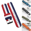 New high quality Nylon Wrist Watch Strap Watchband Wristwatch Stainless Steel Clasp Buckle For HuaWei Smart Watch Band