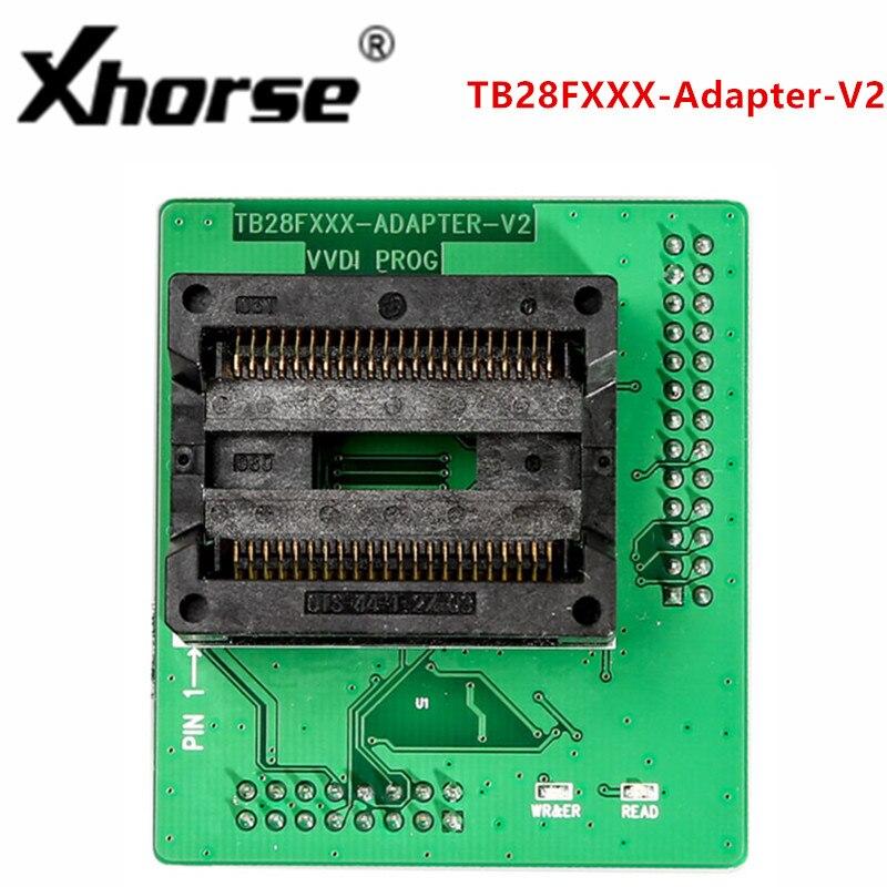 XHORSE TB28FXXX Adapter V2 Work with Xhorse VVDI PROG Programmer