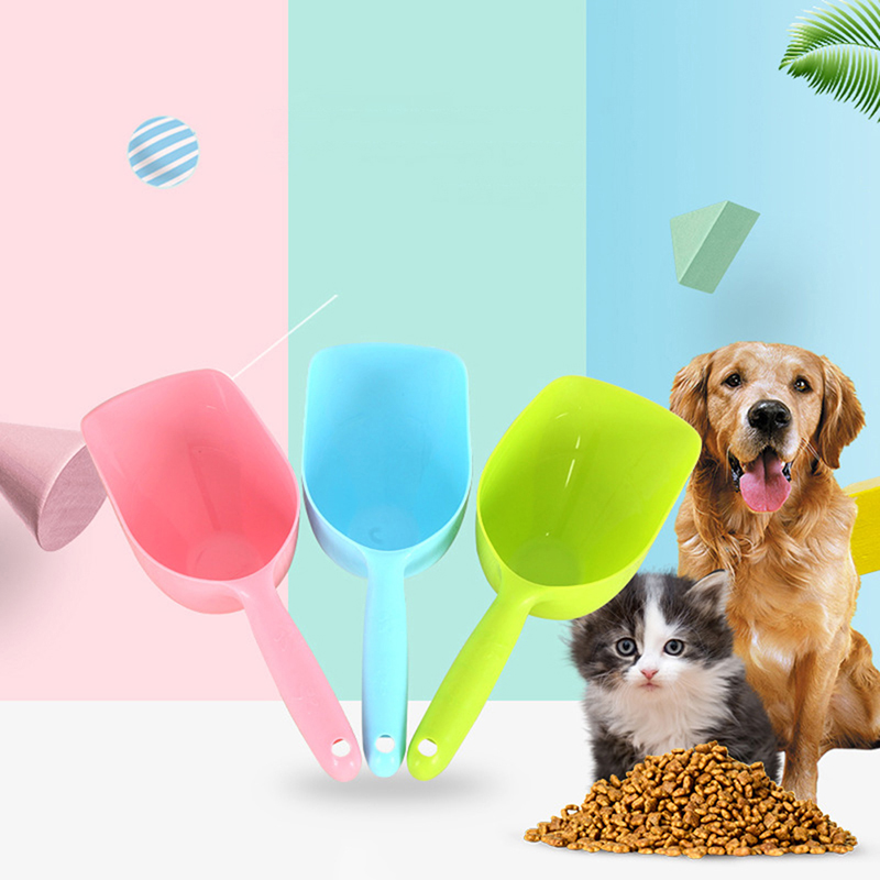 New Pet food shovel dog food cat food shovel high quality pet food shovel utensils 3 color image