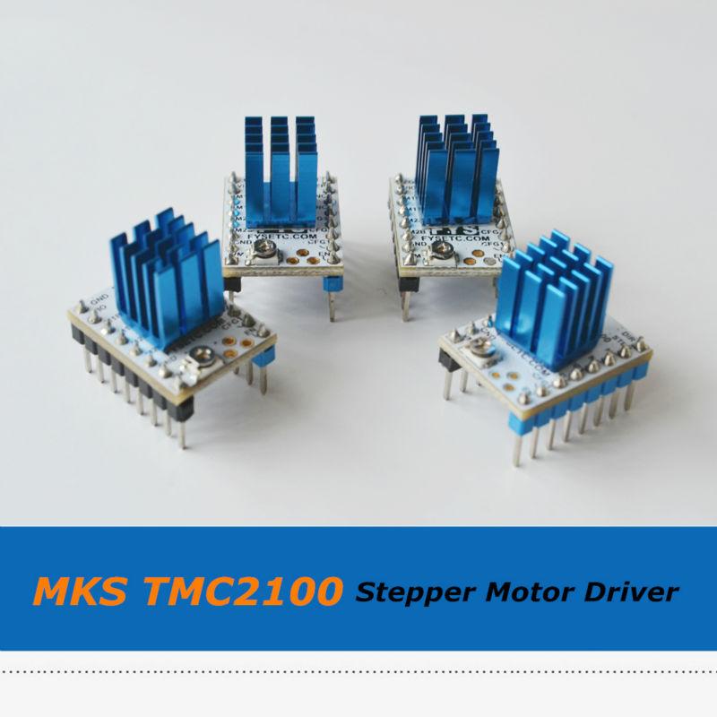 Prix pour 4 pcs/lot Super Silencieux MKS TMC2100 Moteur pas à pas Pilote Stepstick