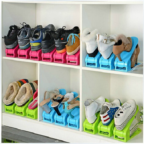 2pcslot Shoes Rack Shoes Organizer Space Saving Shoes Tree Stand