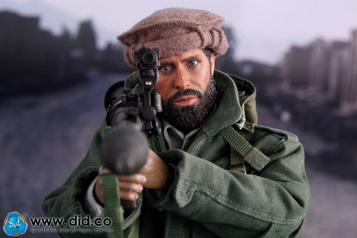 1/6 Super flexible figure The Soviet-Afghan War 1980s Afghanistan Civilian Fighter 12 action figure doll Collectible Model toy herbert george wells the war of the worlds