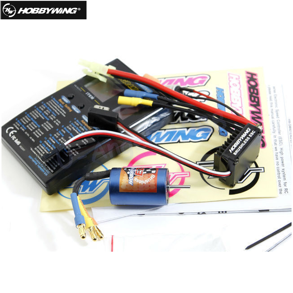 Original Hobbywing eZrun Combo A1 A2 EZRUN-2030 12T/18T 7800KV 5200KV Brushless Motor +18A ESC + Card EZRUN Combo for 1/18 Car vocabulario elemental a1 a2 2cd