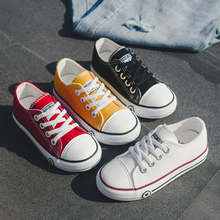 Children Shoes 2020 New Spring Kids Sneakers Solid Breathable Students Flat