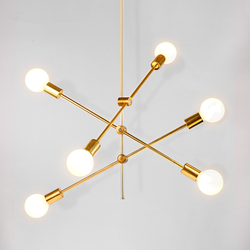 Modern Chandelier LED Iron Glass Lighting abajur for kitchen living room luminaria DNA hanging lamp fixtures glass led pendant chandelier lustres pending lighting for bed room lamparas hanging lights fixtures abajur luminaire suspend e14