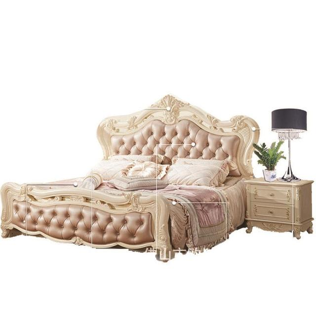 Matrimonio Bed Ocean : American classic pink leather bed marriage king size continental