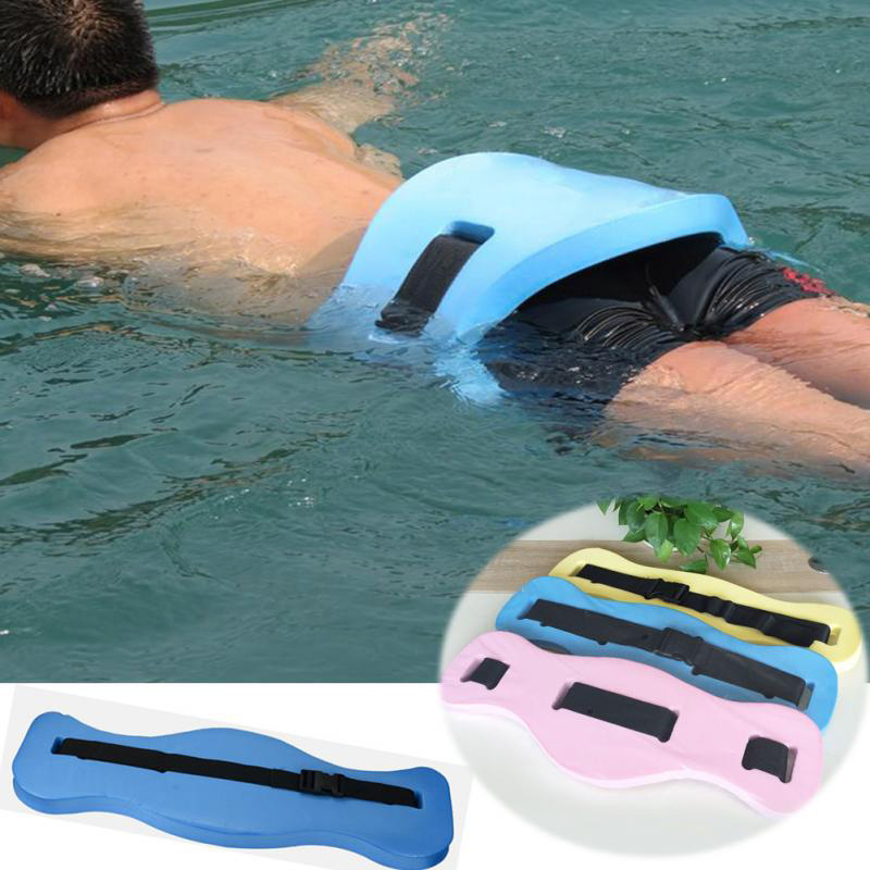 New Adjustable Back Floating Foam Swimming Belt Waist Training Equipment Safety Aid XD88