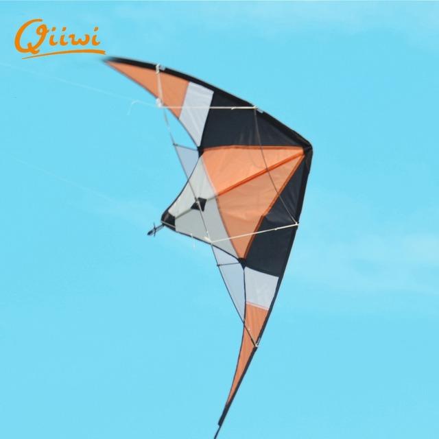 Popular Vlieger Poliéster Esportes Stunt Kites fácil de Montar e Voar Linha dupla Stunt Kite Dleta Frete Grátis Para 10 Para Adulto