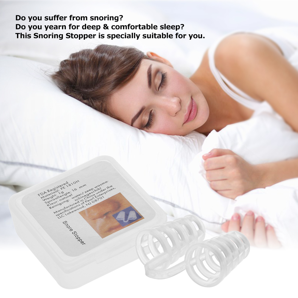 Mini Snoring Stopper Anti Snoring Device Nasal Vents Relief for Snoring Nasal Congestion Health Care Sleep & Snoring