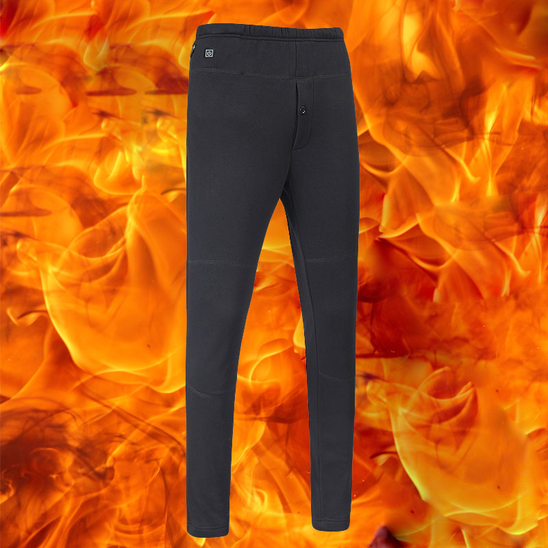 Hommes USB pantalon chauffant pantalon chauffant hiver plein air Sport ski randonnée pantalon thermique basse tension sécurité température réglable