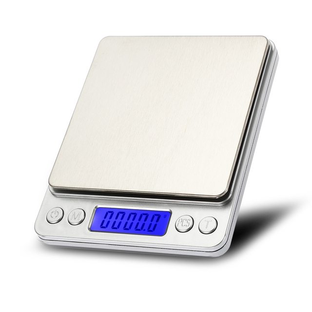 3kg Balance 0 1g Precision Mini Digital Scale Pocket Measuring Tools Non Magnetic Stainless Steel