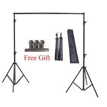 Высокое качество 2×2 м Studio профессиональные фотографии фото фонов Fond Поддержка Системы Подставки + сумка Бесплатная доставка