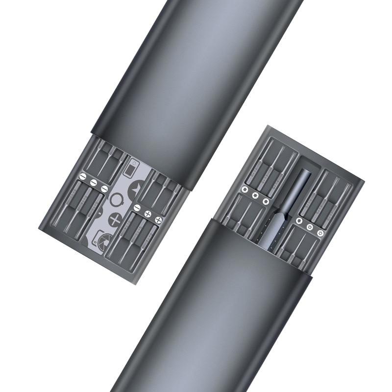 49in1 Original Tao Hua Yuan Daily Use Screwdriver Kit 48 Precision Magnetic Bits AL Box Screw Driver smart home Set