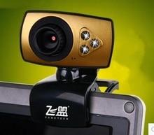 F10 HD camera night vision video camera Desktop PC Laptop Webcam 1200 Megapixels Digital Video with high quality Microphone