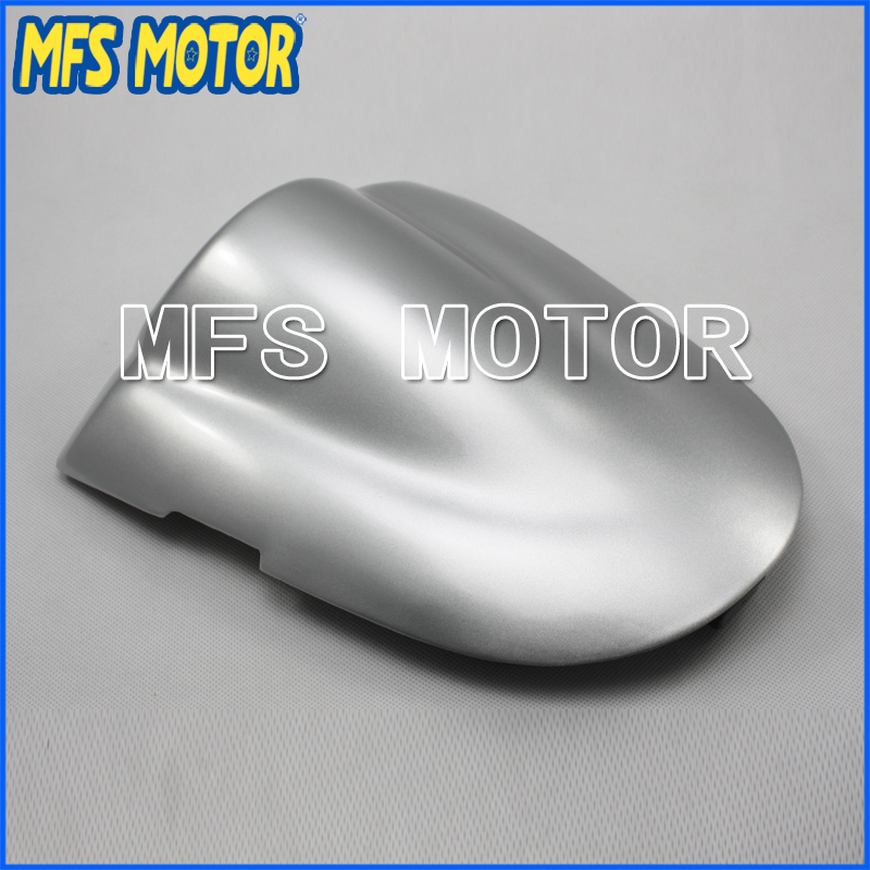 Rear Pillion All Silver Injection ABS Seat Cowl Cover For Suzuki GSX R600/750 K6 2006-2007 Motorcycle Accessories