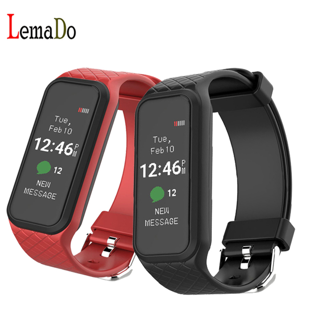 Lemado L38I Bluetooth 4.0 Dynamic Heart Rate Smart Band for Iphone Android Smartphones