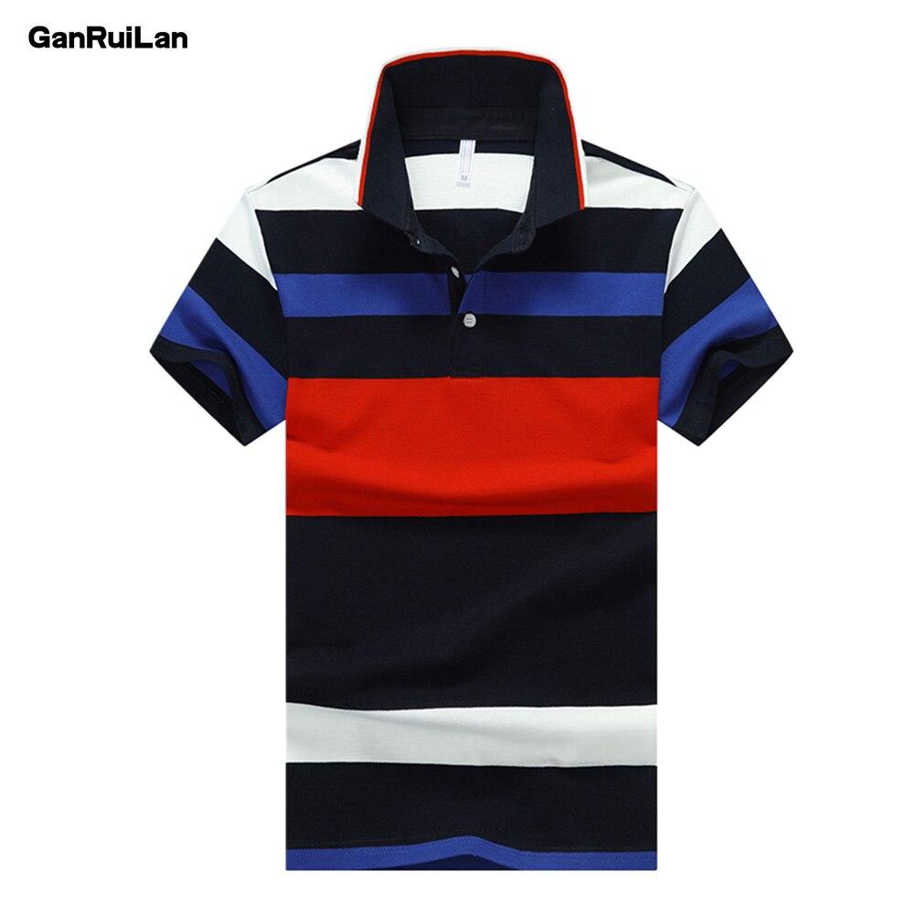 2019 High Quality Tops Men Polo Shirt D Esigual Men's 92% Cotton Short-sleeved Polo Shirt Sweatshirt T-ennis Free Shipping B0401