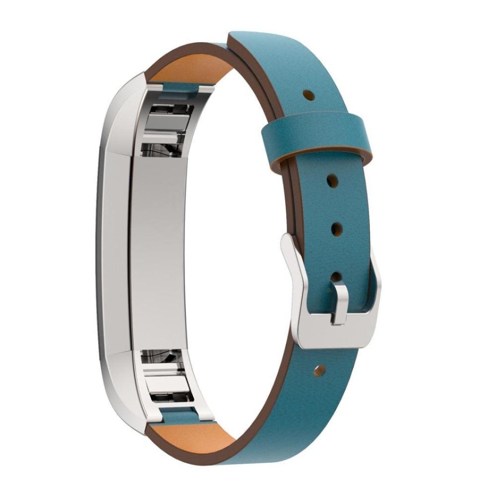Prix pour Haute Qualité En Cuir bracelets Bracelet De Rechange Pour Fitbit Alta Tracker S/L Taille Bracelet